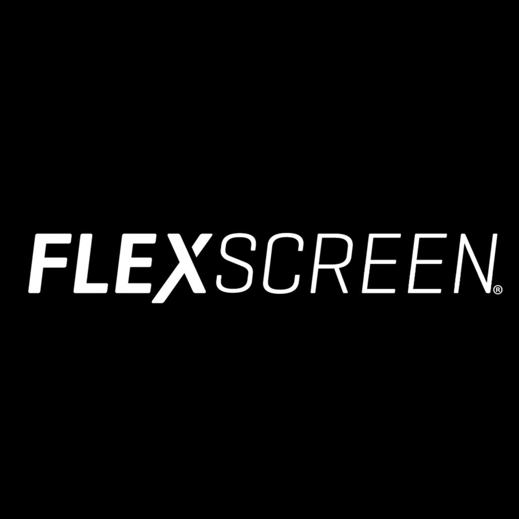 flexscreen words white
